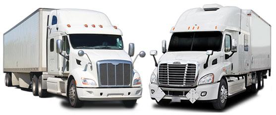 tractor & class 8 trucks
